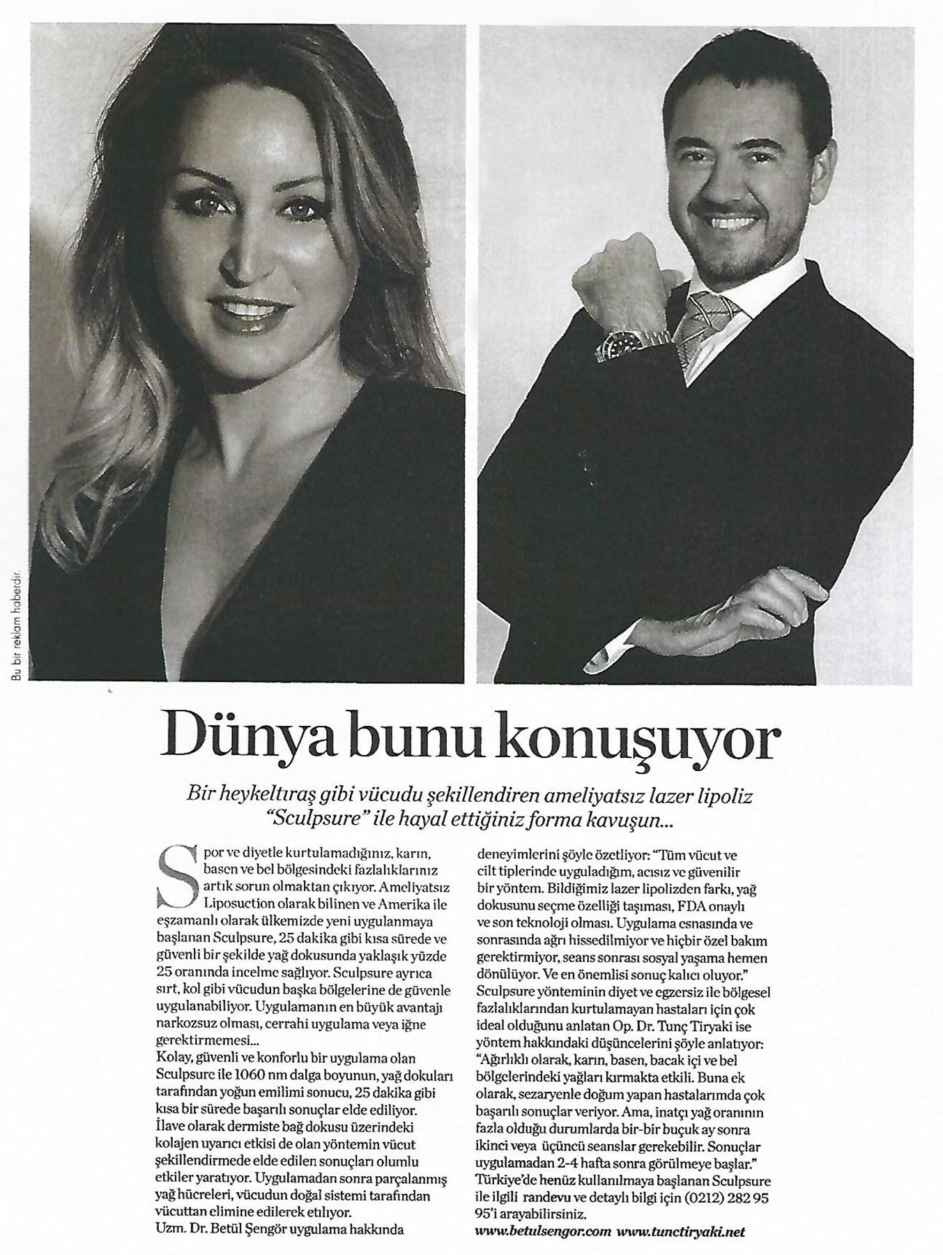 Dr  Tunç Tiryaki | Cellest